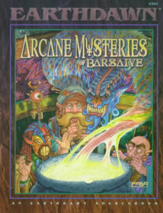 Cover: Arcane Mysteries of Barsaive