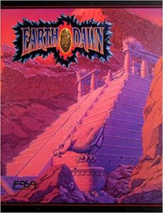 Cover Earthdawn Spielleiterschirm
