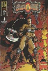 Earthdawn Comic Cover