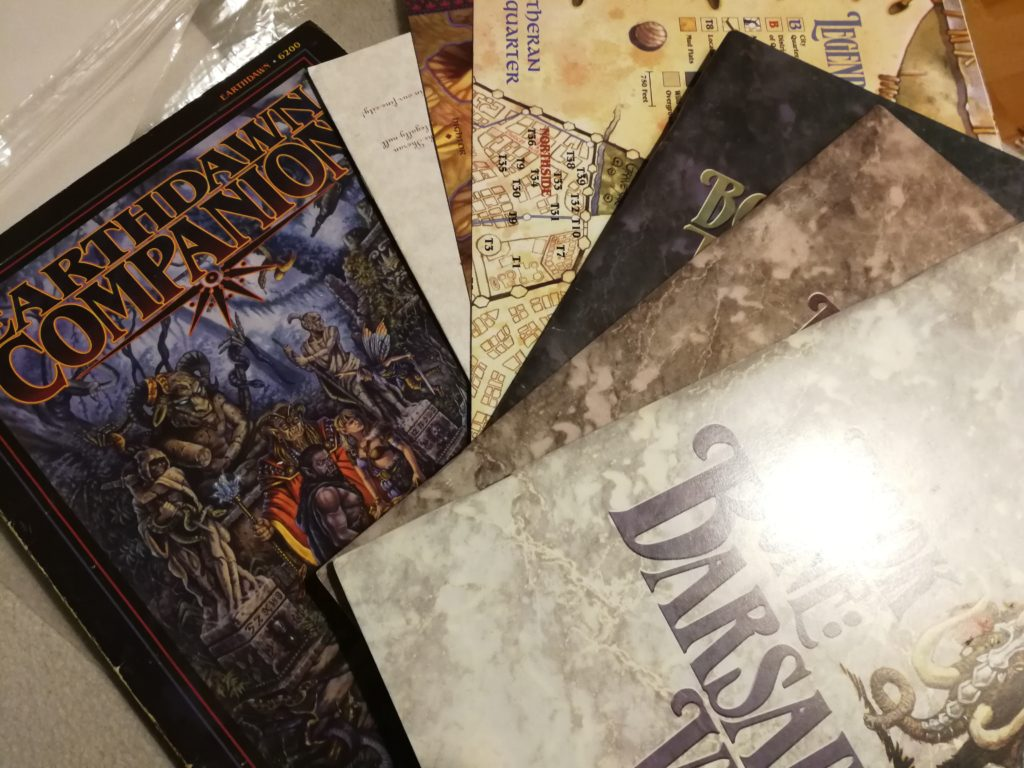 Earthdawn Kompendium Skypoint Viviane Box